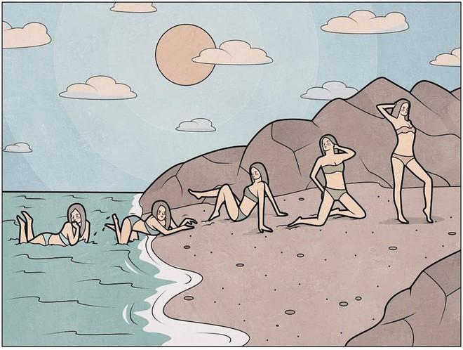 Những bức tranh chân thật đến giật mình về cuộc sống hiện đại của người trẻ  - Ảnh 13.