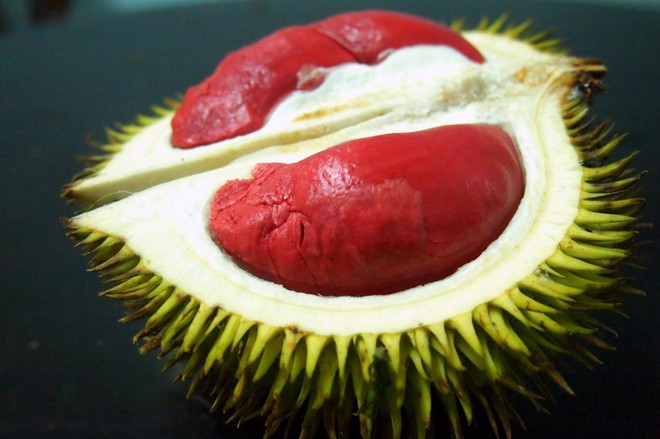 Sầu riêng ruột đỏ hot rần rần đảm bảo sẽ khiến fan sầu riêng thích thú - Ảnh 6.
