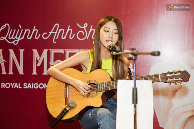Quỳnh Anh Shyn nói về tin đồn không còn thân với Salim trong fan-meeting đầu tiên tại Sài Gòn - Ảnh 5.