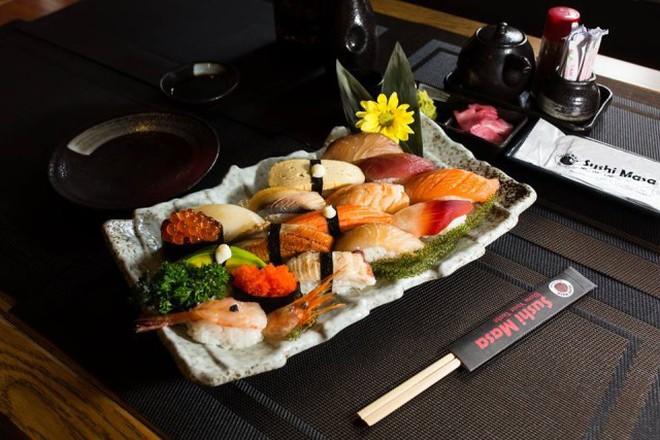 """Sài Gòn không thiếu những quán sushi giá rẻ cho mấy ngày """"xẹp ví"""" mà vẫn thèm ăn sang - Ảnh 3."""