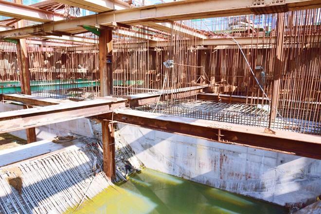 """Chùm ảnh: Toàn cảnh sự """"bất động"""" của loạt công trình chống ngập ở Sài Gòn vì... thiếu vốn, không còn bóng công nhân - Ảnh 3."""