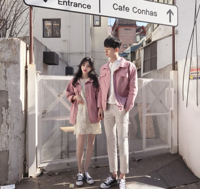 """7 công thức """"đẹp đừng hỏi"""" mà lại dễ áp dụng giúp bạn diện đồ đôi với nửa kia chất như giới trẻ Hàn Quốc - Ảnh 2."""