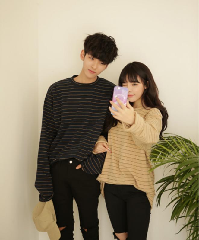 """7 công thức """"đẹp đừng hỏi"""" mà lại dễ áp dụng giúp bạn diện đồ đôi với nửa kia chất như giới trẻ Hàn Quốc - Ảnh 5."""