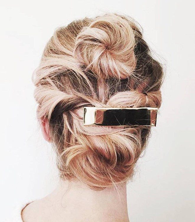 Có tới 13 kiểu tóc búi duyên dáng dành cho nàng tóc mỏng làm điệu mỗi ngày - Ảnh 12.