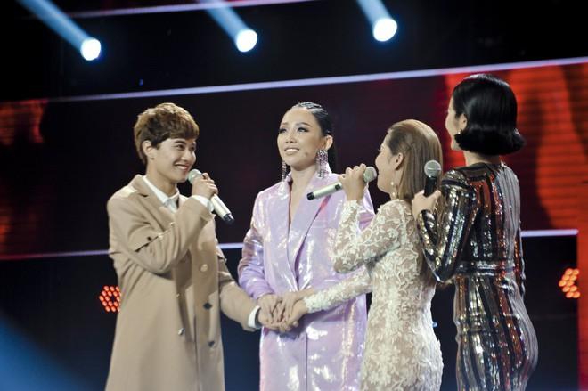 Giọng hát Việt: Nhóm đấu 3 của team Noo Phước Thịnh gây ấn tượng mạnh với màn biểu diễn quá xuất sắc - Ảnh 5.