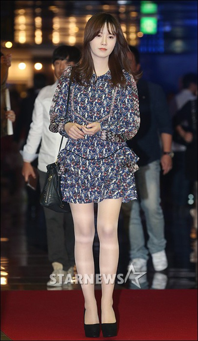 Giảm cân thành công nhưng Goo Hye Sun vẫn kém đẹp chỉ vì thói quen này khi diện váy ngắn 2