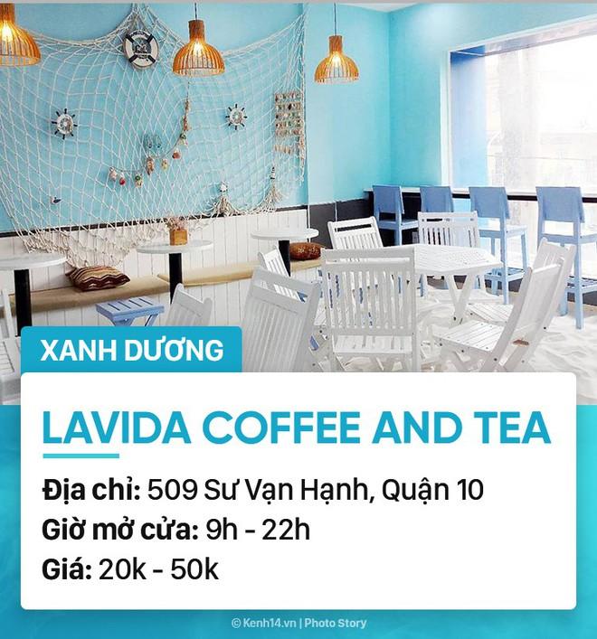 Chọn quán cà phê theo màu, Sài Gòn có cả list xanh hồng vàng trắng... dành cho bạn - Ảnh 24.