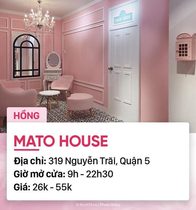 Chọn quán cà phê theo màu, Sài Gòn có cả list xanh hồng vàng trắng... dành cho bạn - Ảnh 1.