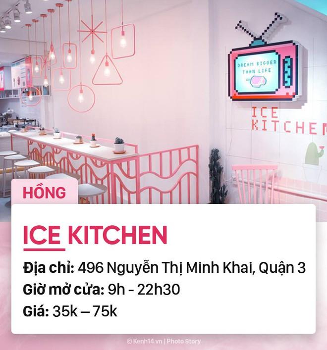 Chọn quán cà phê theo màu, Sài Gòn có cả list xanh hồng vàng trắng... dành cho bạn - Ảnh 3.