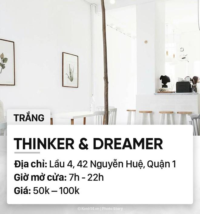 Chọn quán cà phê theo màu, Sài Gòn có cả list xanh hồng vàng trắng... dành cho bạn - Ảnh 6.