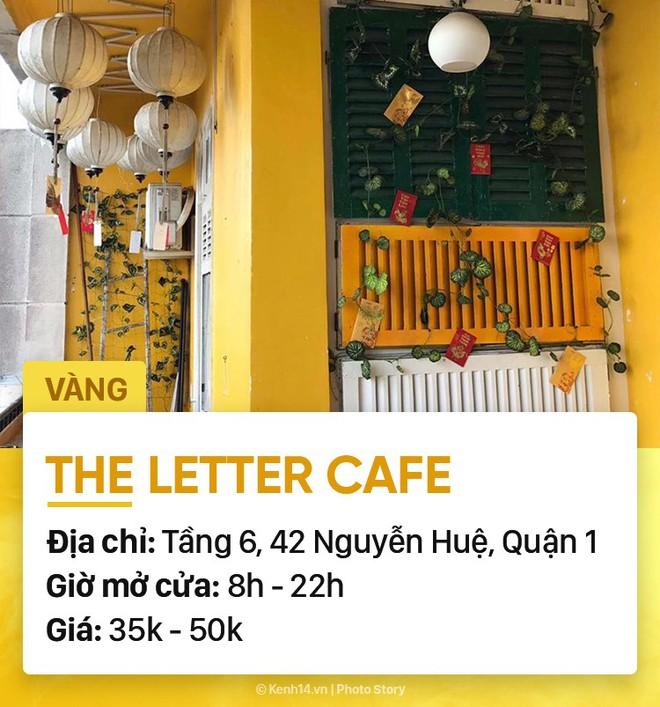 Chọn quán cà phê theo màu, Sài Gòn có cả list xanh hồng vàng trắng... dành cho bạn - Ảnh 12.