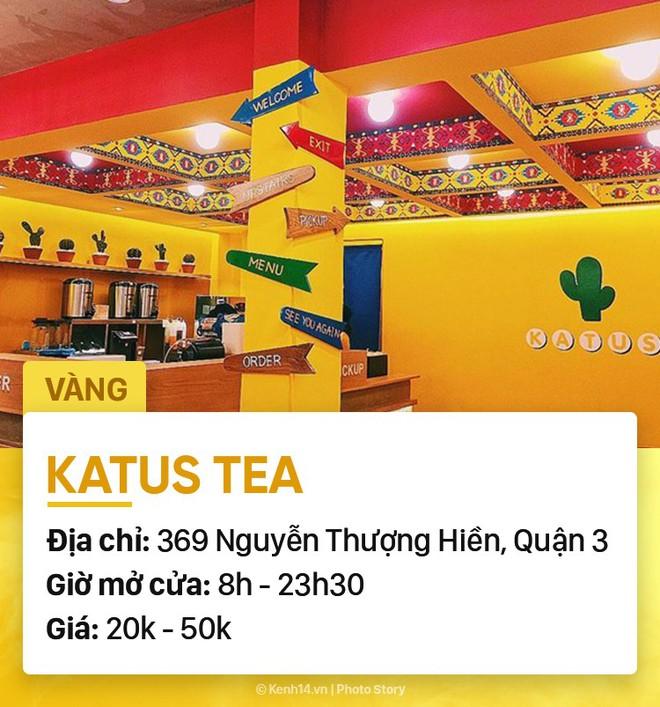 Chọn quán cà phê theo màu, Sài Gòn có cả list xanh hồng vàng trắng... dành cho bạn - Ảnh 16.