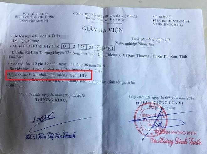 Bị nghi để lây HIV cho hàng loạt người ở Phú Thọ, nam bác sĩ lên tiếng - Ảnh 2.