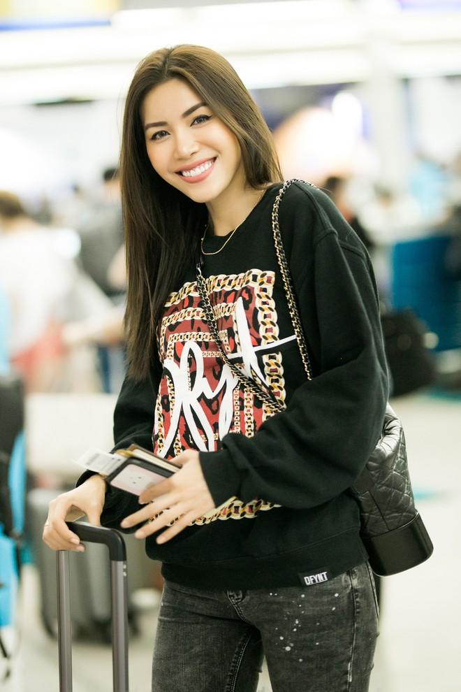 Minh Tú diện style khoẻ khoắn, cùng dàn thí sinh Miss Supranational Vietnam 2018 sang Hàn chuẩn bị đêm chung kết - Ảnh 2.