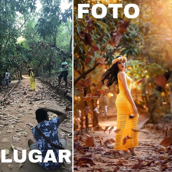 """""""Thánh"""" chụp ảnh Photoshop"""