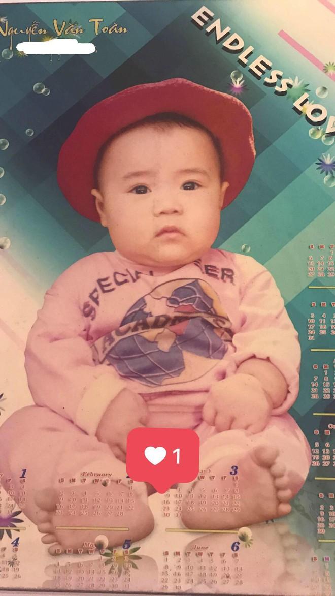 Ảnh thuở bé mũm mĩm đáng yêu của Văn Toàn - người hùng đưa đội tuyển Olympic Việt vào bán kết ASIAD - Ảnh 3.