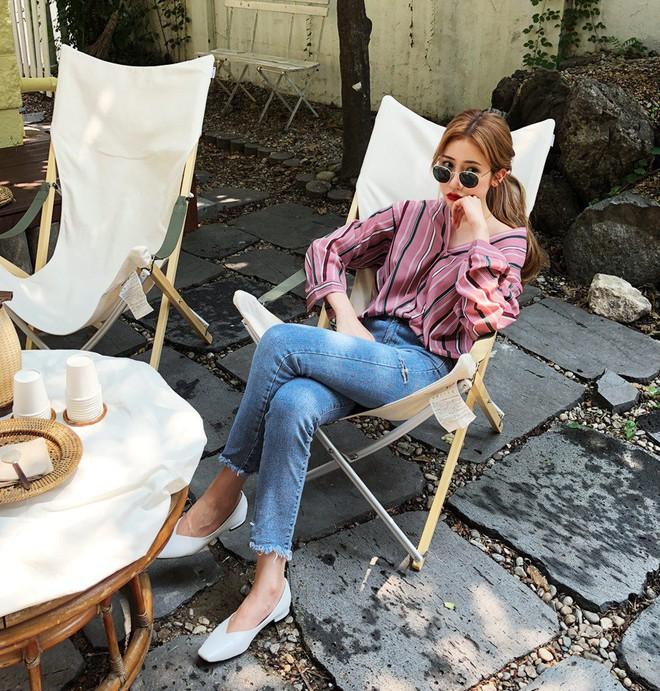 5 công thức biến hóa với quần jeans mà các nàng cứ diện lên là đẹp và chất - Ảnh 3.