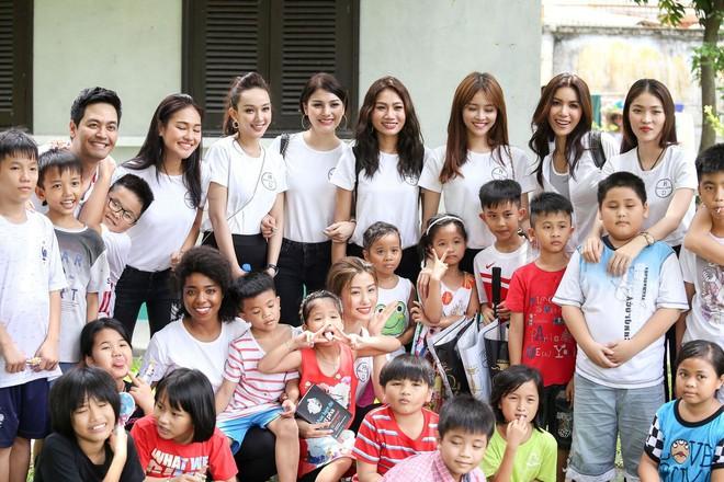 Minh Tú cùng dàn thí sinh Miss Supranational Vietnam hạnh phúc khi nhận được nhiều tình cảm của trẻ em làng SOS - Ảnh 3.
