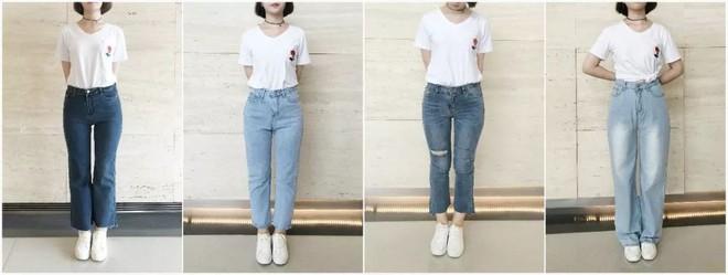 Đại diện các chị em mặc thử 8 loại quần jeans phổ biến, cô nàng này đã tìm ra loại tôn chân nịnh dáng nhất - Ảnh 3.