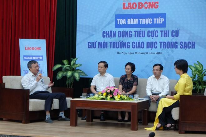 """Cục trưởng Mai Văn Trinh nói về các thí sinh thực lực sau gian lận thi cử: """"Một số thí sinh mất cơ hội theo trường nguyện vọng nhưng các em vẫn nên tự hào"""" - Ảnh 2."""