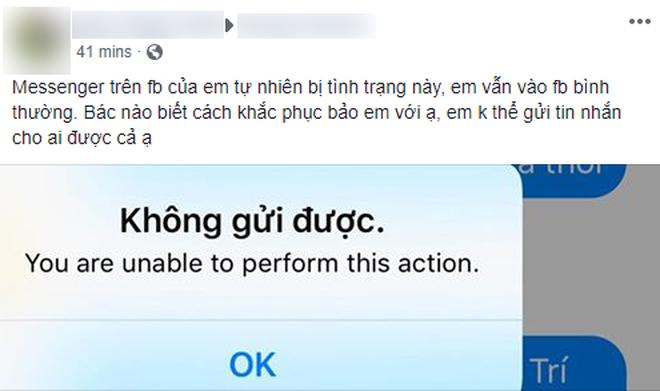 Ứng dụng Messenger gặp lỗi diện rộng trên mobile, đây là giải pháp khắc phục tạm thời - Ảnh 1.