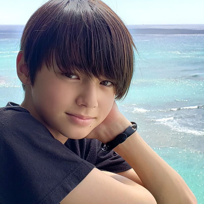Cậu bé sinh năm 2007 mang hai dòng máu Đức - Nhật được mệnh danh là hoàng tử lai - Ảnh 7.