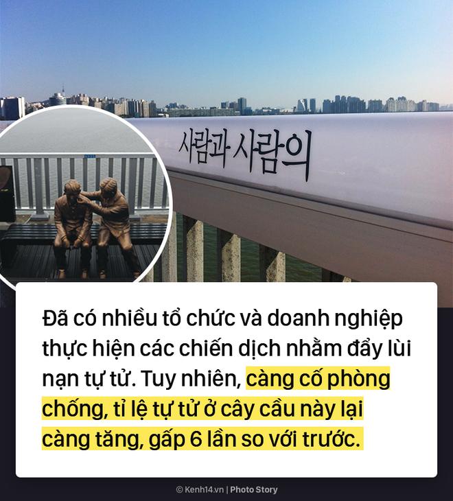 Cây cầu lãng mạn trong phim ở Hàn Quốc lại là nơi có tỷ lệ nhảy sông cao nhất ở đất nước này - Ảnh 8.