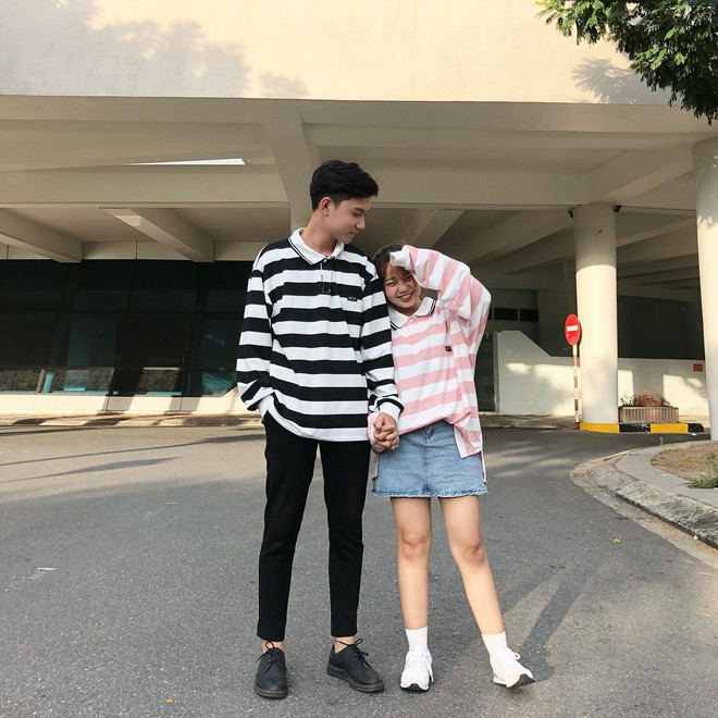 """Couple Đà Nẵng sinh năm 1999 """"đũa lệch"""" 28cm diện đồ siêu xinh, có câu chuyện tình yêu ngọt ngào - Ảnh 3."""
