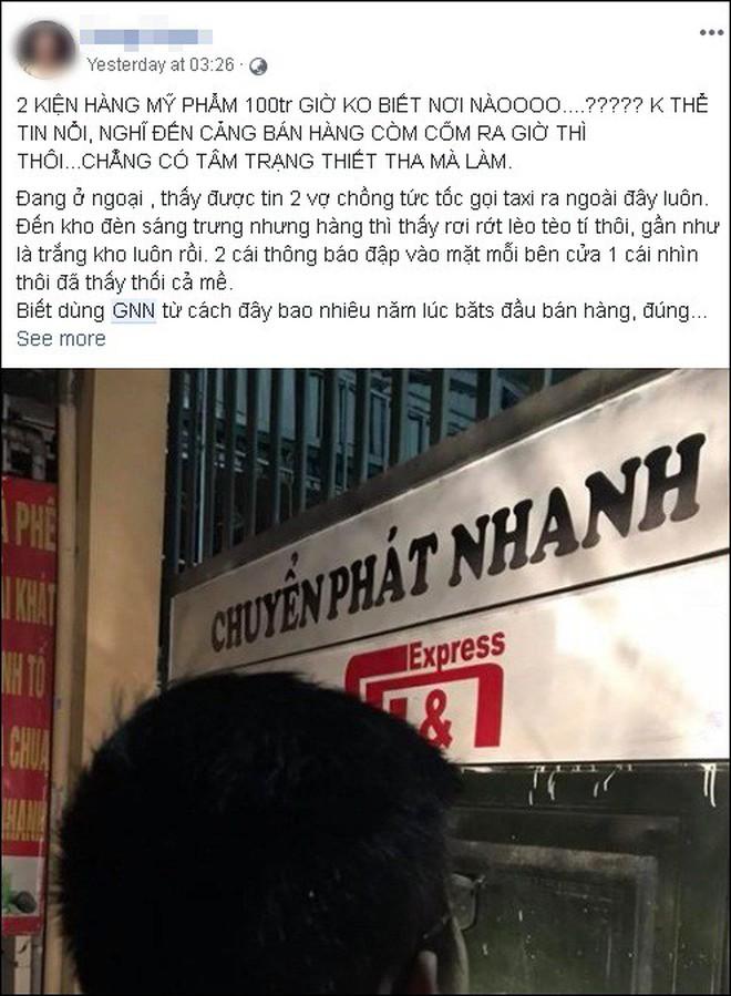 Hàng loạt shop online điêu đứng vì tiền mất, hàng bị niêm phong khi công ty chuyển phát GNN tuyên bố phá sản - Ảnh 6.