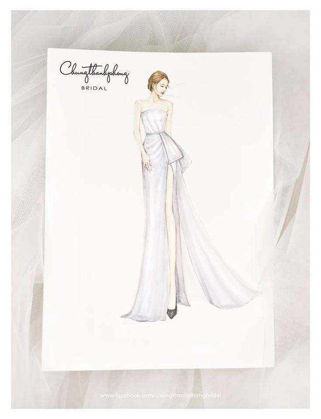 Đám cưới Nhã Phương Trường Giang: Mẫu váy cưới tiếp theo của Nhã Phương - ảnh