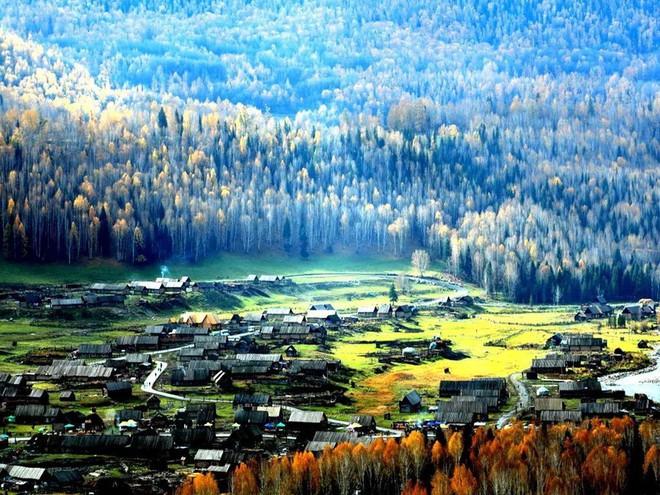 Những ngôi làng cảnh sắc đẹp mê hồn nhất định phải ghé thăm vào mùa thu ở Trung Quốc - Ảnh 6.