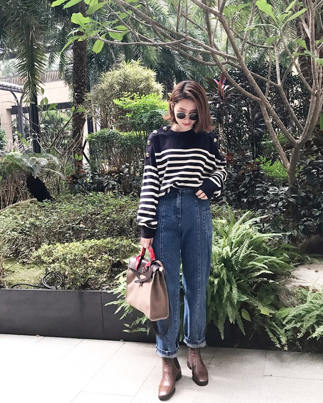 Quanh năm suốt tháng diện quần jeans thì các nàng phải học ngay 4 tips mặc chuẩn đẹp lại giúp kéo dài chân cả tấc này - Ảnh 2.
