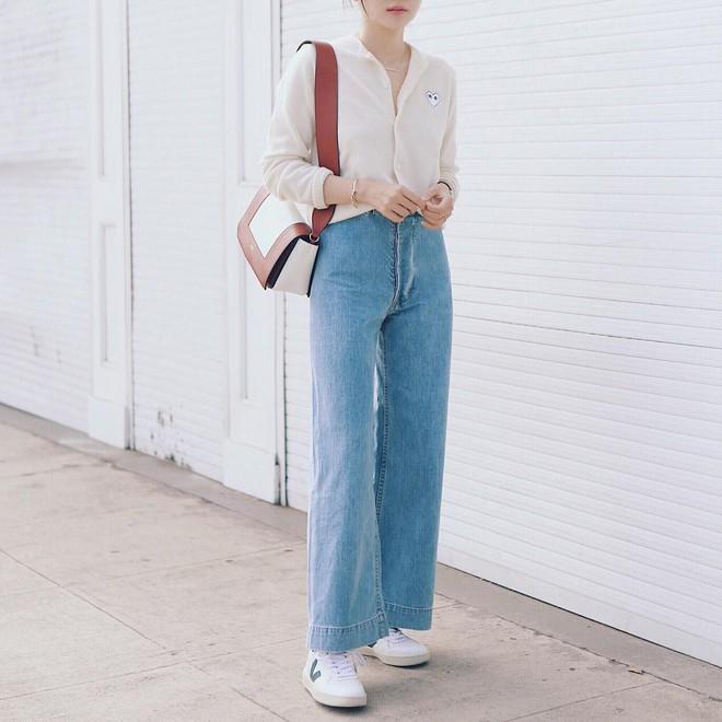Quanh năm suốt tháng diện quần jeans thì các nàng phải học ngay 4 tips mặc chuẩn đẹp lại giúp kéo dài chân cả tấc này - Ảnh 3.