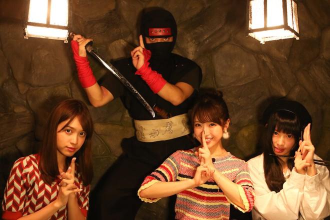 Vào quán ăn ở Nhật, nhiều người phải hoảng sợ vì gặp phải những tay ninja đầy sát khí 4