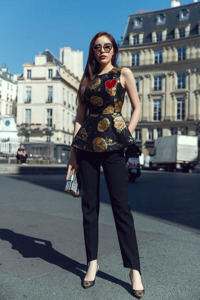 Kỳ Duyên khoe street style chất lừ trước thềm Paris Fashion Week - ảnh 1