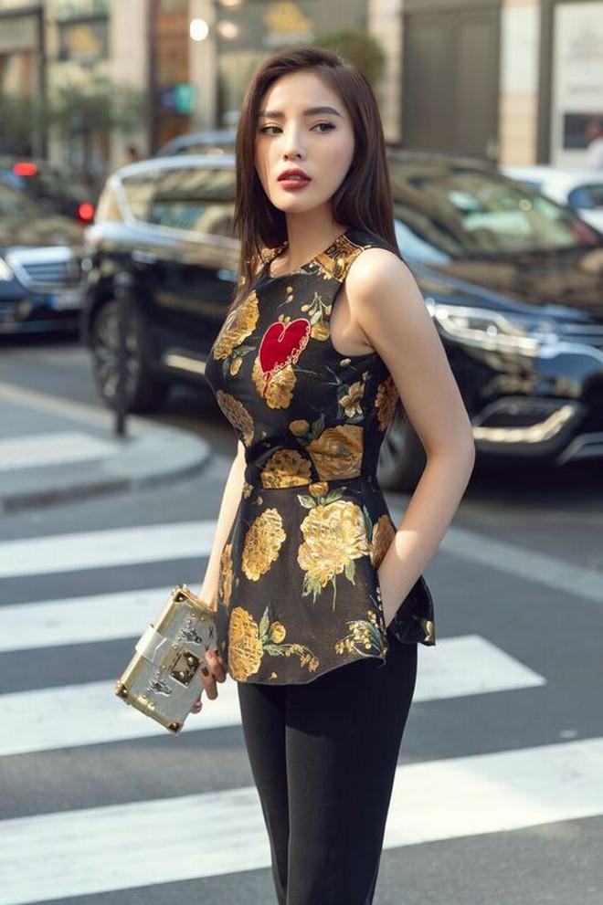Kỳ Duyên khoe street style chất lừ trước thềm Paris Fashion Week - ảnh 4