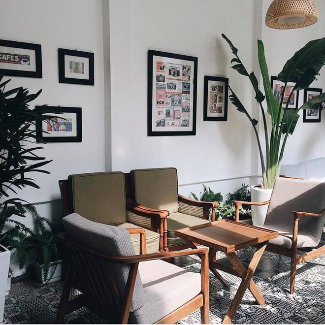 Hà Nội: 3 quán cà phê xanh mướt, mát rượi cực hợp để đi vào những ngày đầu thu - Ảnh 11.
