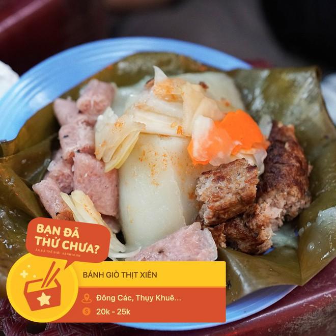 Tưởng là món ăn vui miệng, ai ngờ đâu thịt xiên lại nghiễm nhiên trở thành topping trong loạt món ngon xuất chúng ở Hà Nội - Ảnh 5.