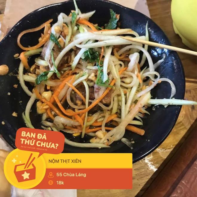 Tưởng là món ăn vui miệng, ai ngờ đâu thịt xiên lại nghiễm nhiên trở thành topping trong loạt món ngon xuất chúng ở Hà Nội - Ảnh 11.