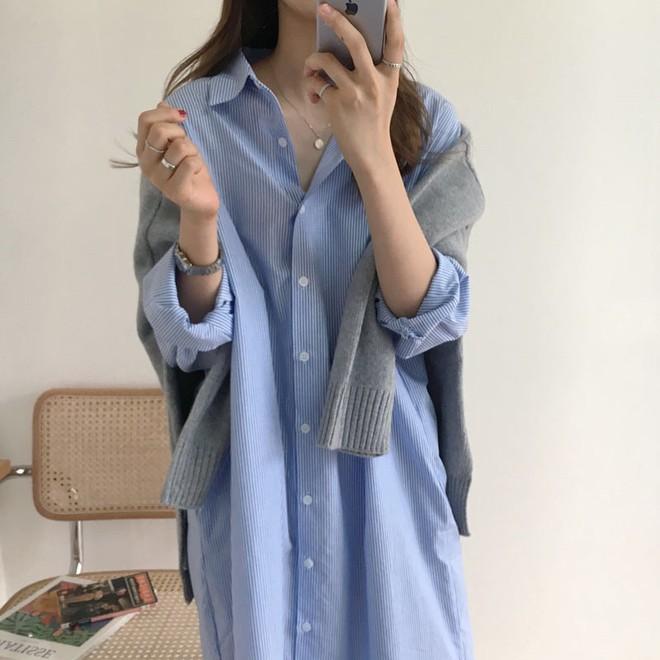"""4 công thức Hàn Quốc trendy nhất đợt này, mặc đi làm vừa xinh vừa hợp chụp ảnh """"sống ảo"""" - Ảnh 3."""