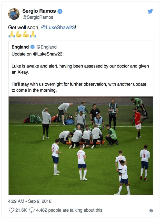Luke Shaw bất tỉnh sau chấn thương hi hữu, Mourinho lo sốt vó - Ảnh 8.