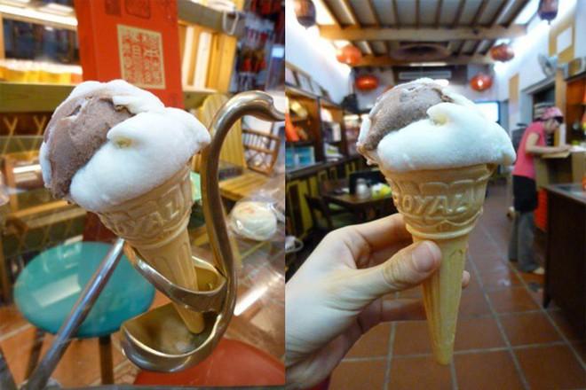 Ở Thổ Nhĩ Kỳ có một loại kem phải dùng đến dao để chặt thì mới lấy kem ăn được - Ảnh 4.