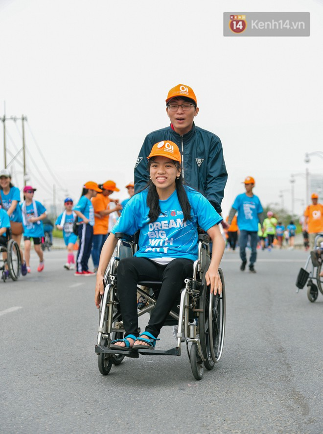 Đường đua 5km và câu chuyện vượt lên chính mình của những người khuyết tật ở Sài Gòn - Ảnh 3.