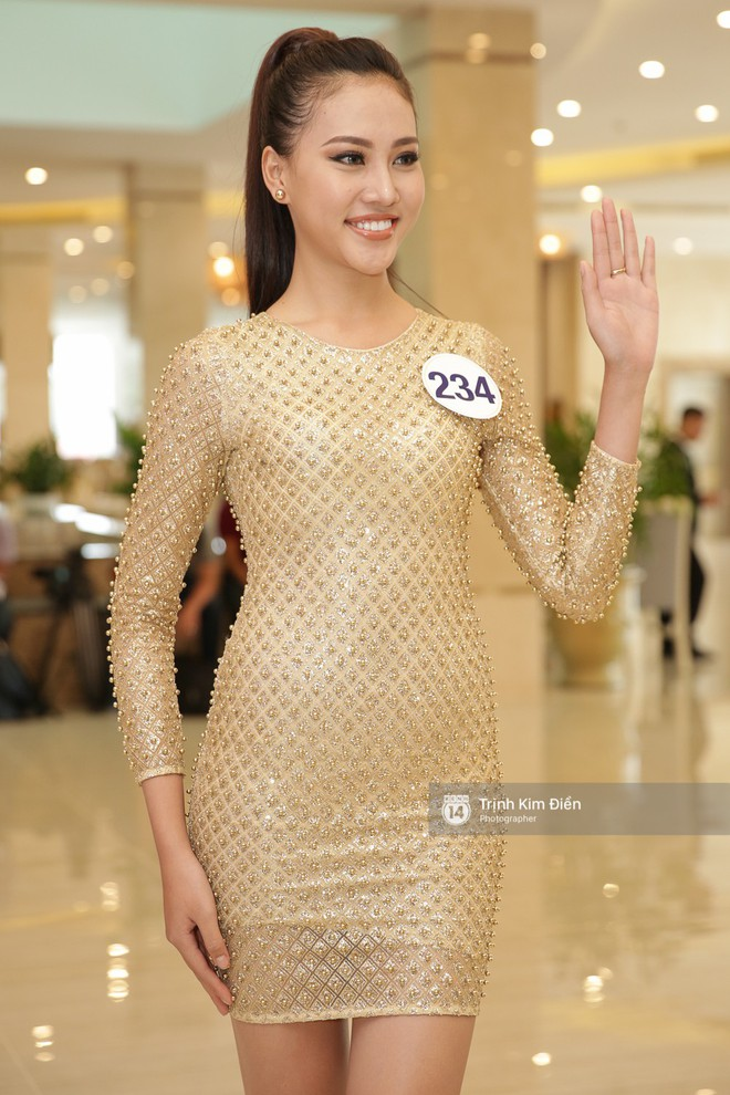 42 thí sinh Hoa hậu Hoàn vũ VN xuất hiện rạng rỡ tại họp báo, BTC công bố vương miện dành riêng cho Á hậu - Ảnh 6.