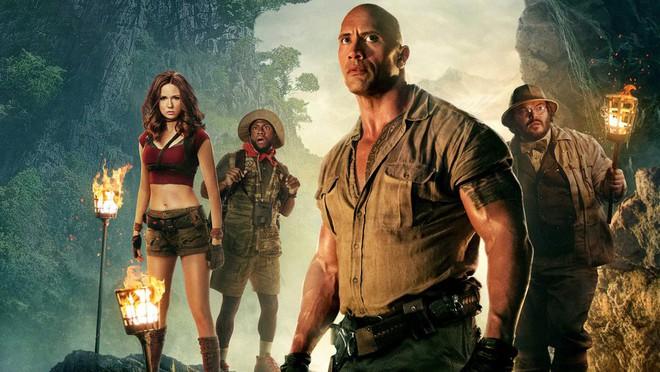 Jumanji: Welcome to the Jungle tiếp tục khiến tân binh bẽ mặt khi dẫn đầu BXH 3 tuần liên tiếp - Ảnh 2.