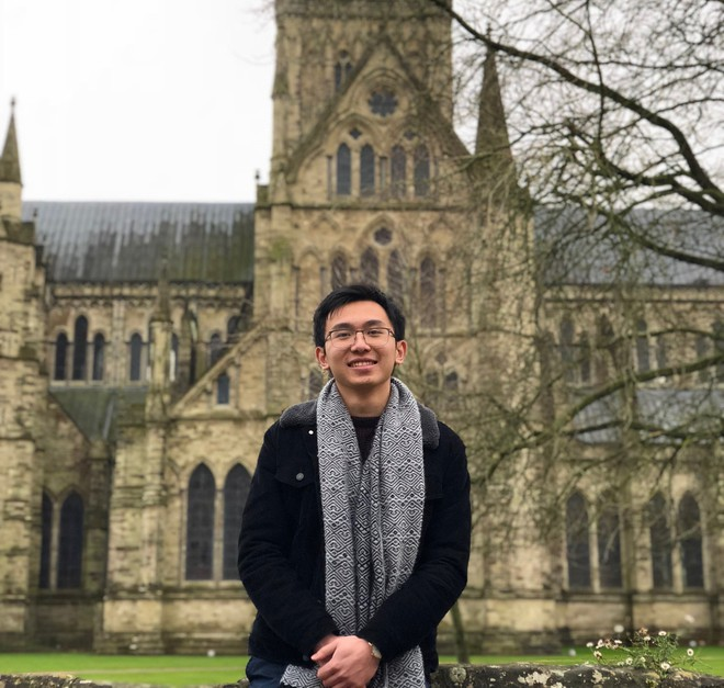 Chàng trai Hà Tĩnh chuẩn con nhà người ta: HCB Toán quốc tế, nhận học bổng tiến sĩ toàn phần khi mới học năm 3 - Ảnh 2.