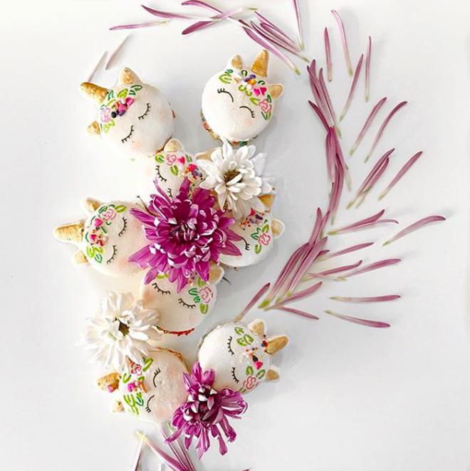 Bạn đã bao giờ từng thử một chiếc macaron có tạo hình đầu của kỳ lân chưa? - Ảnh 6.