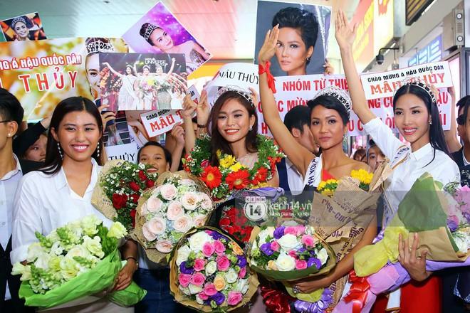 Top 3 Hoa hậu Hoàn vũ Việt Nam rạng rỡ xuất hiện, gây náo loạn sân bay Tân Sơn Nhất - Ảnh 7.