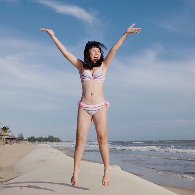 Trang Hý diện bikini: Chẳng cần 3 vòng hấp dẫn, vẻ ngoài rạng rỡ của cô nàng đã đủ 100 điểm cuốn hút - Ảnh 3.