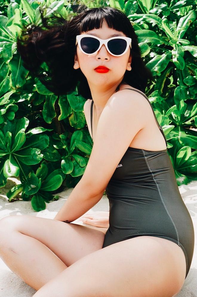 Trang Hý diện bikini: Chẳng cần 3 vòng hấp dẫn, vẻ ngoài rạng rỡ của cô nàng đã đủ 100 điểm cuốn hút - Ảnh 1.